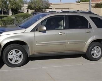 2008 Pontiac Torrent with approx. 84000 miles.