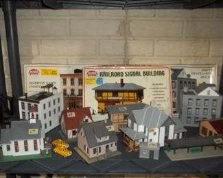Train collection village
