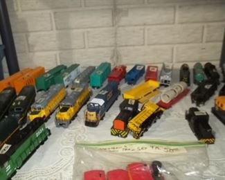 collectible ho guage trains