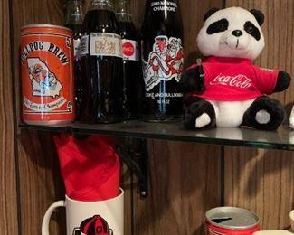 Commemorative Coke bottles