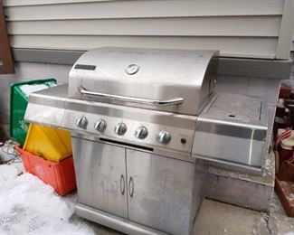 Perfect Flame Stainless Grill