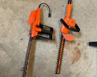 Chainsaw and Trimmer