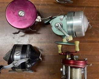 Group of Vintage Fishing Reels