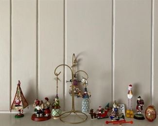 Holiday Figurines Including Jim Shore
