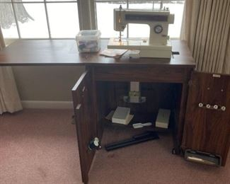 Kenmore Sewing Machine and Table