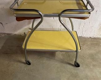 MCM Serving Cart