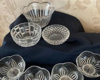 Pressed Glass Newer Bowl Collection