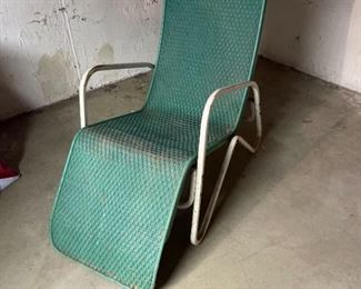 Vintage Outdoor Reclining Chair