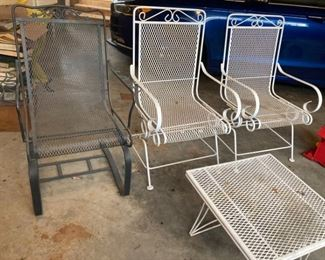 Wrought iron Lawn Chairs