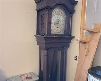 Grandfather clock (non-working). This is a project peice