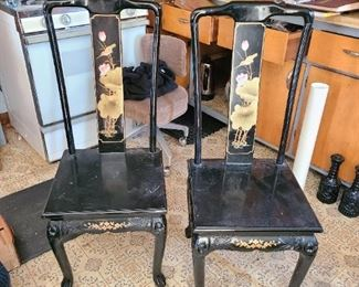 Asian designed chairs