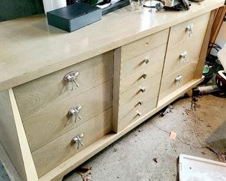 Mid Century Modern 12 drawer dresser