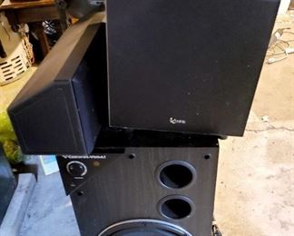 3 Speakers of several available