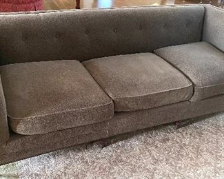 "Amazing Quality Sofa by Baker- Wren Tufted Sofa. Used in a formal living area. In very good condition. Measures 86"" x 34"" x 30."
