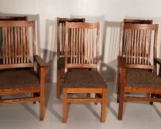 Nichols and Stone mint Condition dining chairs