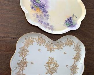 Two Vintage Platters