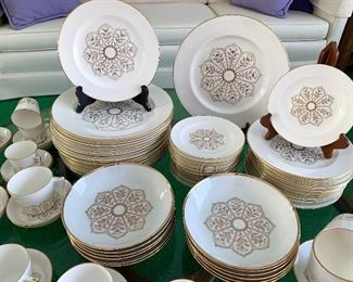 Royal Crown Derby China Dish Set