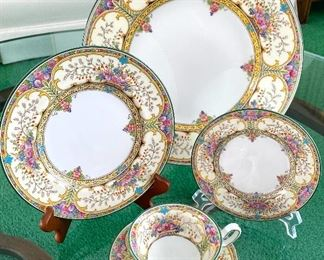 """Wedgewood China Set- """"Austell"""" -Truly a very beautiful china set! The colors and design are lovely."""