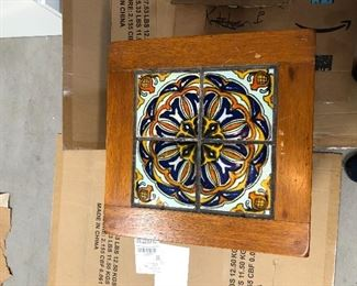 1920's Taylor Tile Table in Spanish revival style