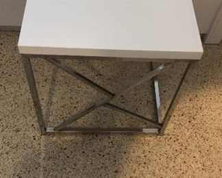 Pair side tables