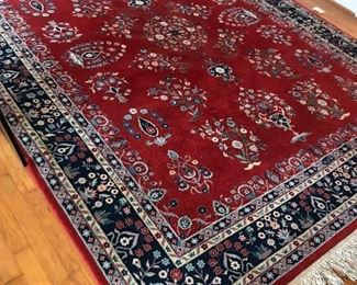 Silk Road wool rug made in China