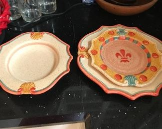 Horchow plates and bowls