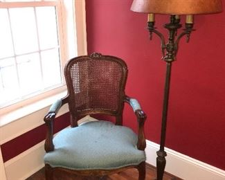 Pair of French Louise XV chairs