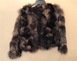 Tasha Tarno Fox fur jacket made in Finland