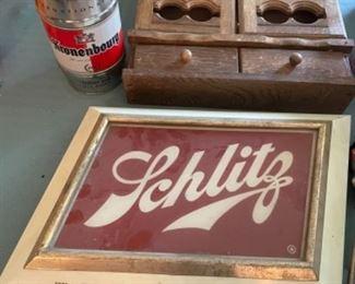 Schlitz light up beer sign