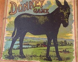 ANTIQUE DONKEY GAME