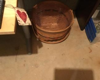 Large longaberger basket