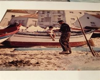 Greek fisherman photo