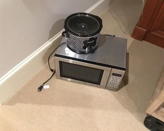 Microwave and crock pot
