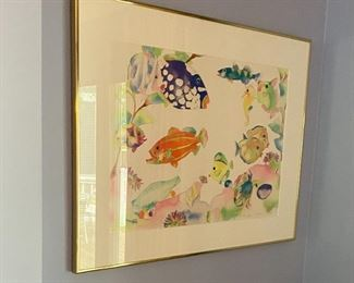 Tropical fish art