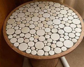 Gordon Martz Marshall Studios ceramic pedestal table