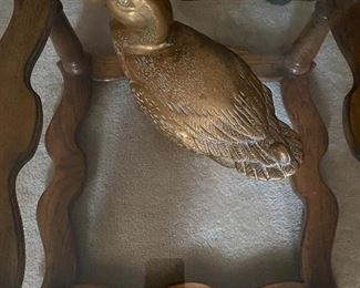 Brass duck box