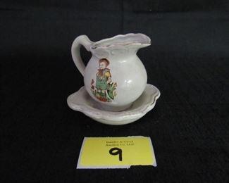 Miniature pitcher & basin