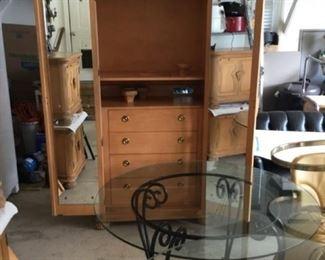 Bernhardt Blonde Armoire - Bedroom set incl. bed and nightstands $999 ($12k new) (Photo 2/4)