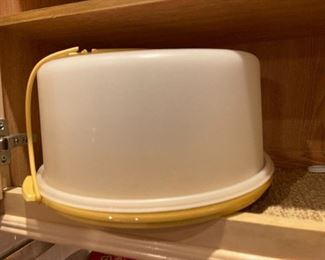 Tupperware $8 (Has a tear in the top strap)