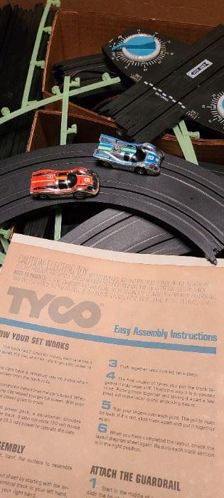 Tyco Slot Car Track like new.