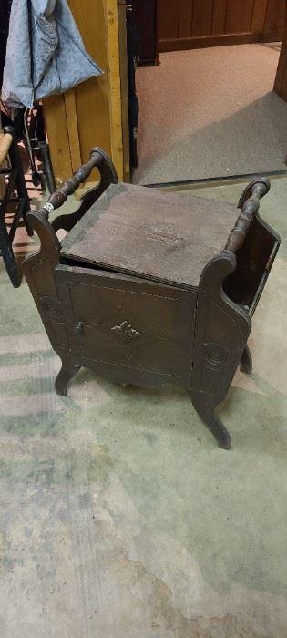 vintage chamber pot cabinet