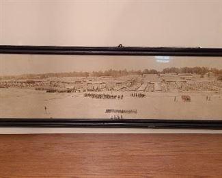 WWI panoramic photo of Camp Greenleaf Georgia 1918