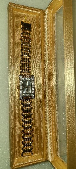 Elizabeth Taylor White Diamond Watch