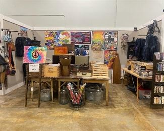 Booth W3 Everything in the Spruce must be liquidated