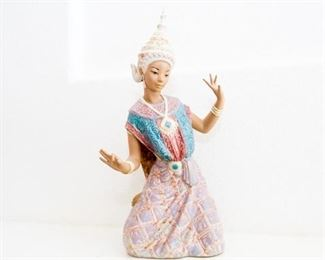 Lladro Siamese Thai Dancer