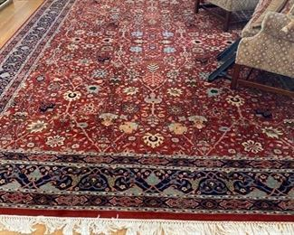 20th c hand made room size rug