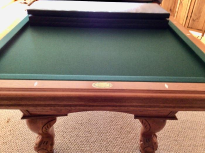 Gorgeous Pool Table that can also be a dining table.