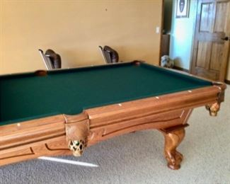 Another view of the pool table.