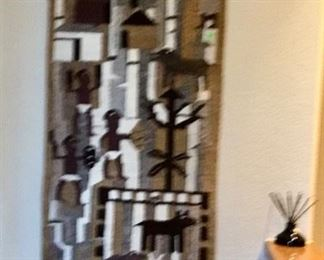 More Tribal Art - Rug from So. Africa