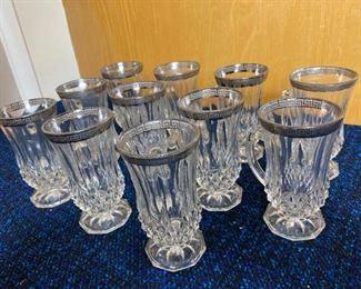 Crystal Tea Cups